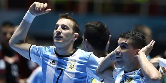 Argentina vs. Rusia, la final del Mundial de Futsal