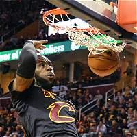 Triunfo de Cavaliers, liderado por James; Spurs venció a Warriors