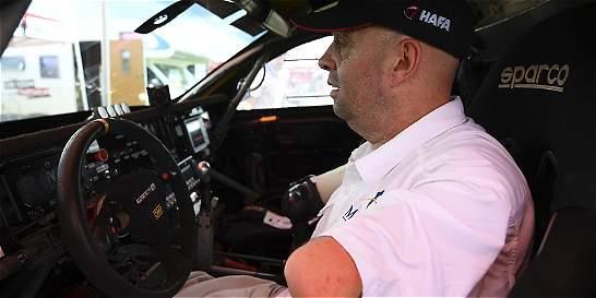 La historia de Croizon, un piloto sin manos ni pies en el Dakar