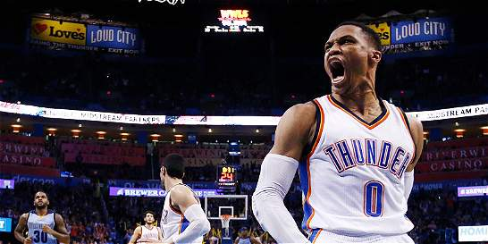 Russell Westbrook, imparable en la NBA: llegó a 20 triples-dobles