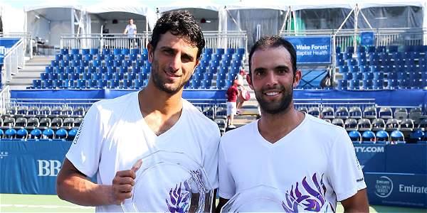 Robert Farah y Juan Sebastián Cabal, tenistas colombianos.