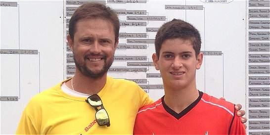 Colombiano Nicolás Mejía, campeón del Torneo Eddie Herr International