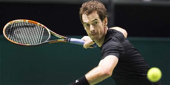 Murray y Wawrinka, a la segunda ronda en el Torneo de Rotterdam