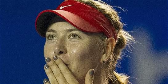 Sharapova abandonó el Abierto de México por una gastroenteritis