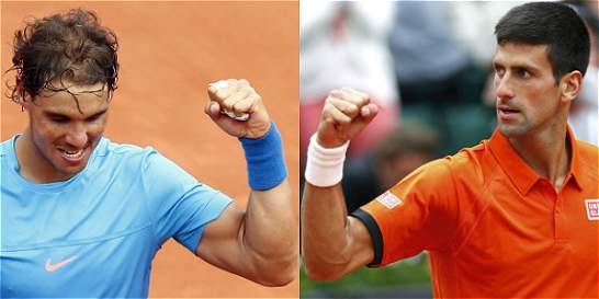 Djokovic y Nadal ganaron y siguen camino a la final de Roland Garros