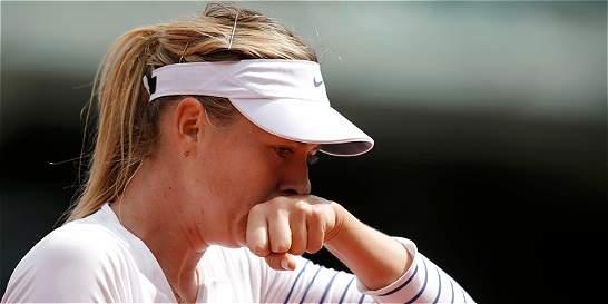 Sharapova, eliminada en octavos de final del de Roland Garros