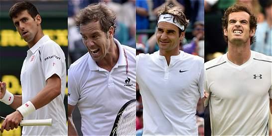 Richard Gasquet es la sorpresa de los semifinalistas de Wimbledon