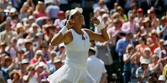 Garbiñe Muguruza, la nueva diva de Wimbledon