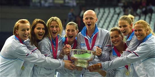 Pliskova llevó a República Checa a ganar su cuarta Copa Confederación