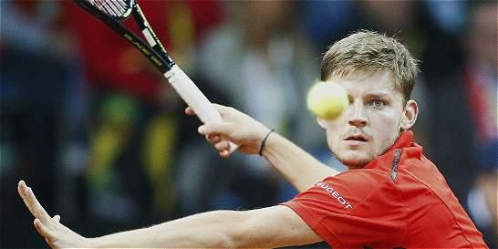 Pulso abierto en la final de Copa Davis entre Bélgica y Gran Bretaña