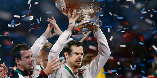 Andy Murray acabó la sequía británica en la Copa Davis