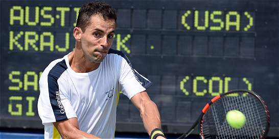 Santiago Giraldo debutará este lunes en el ATP 250 de Buenos Aires