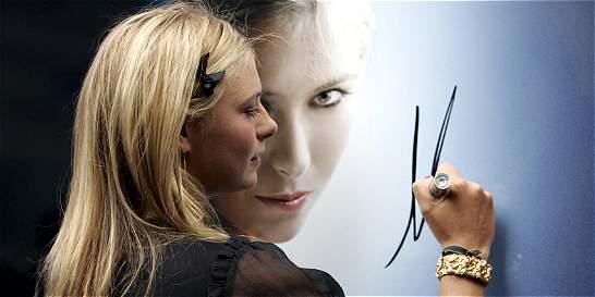 Maria Sharapova, la zarina del tenis, le puso la cara al dopaje