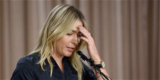 ONU apartó a Sharapova como 'embajadora' de buena voluntad