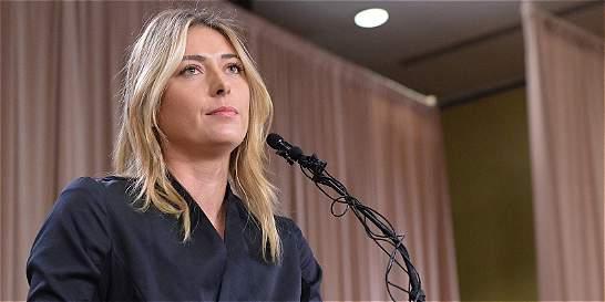 Concentración de Meldonium supera la norma en el caso de Sharapova