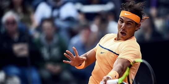 Nadal avanzó a cuartos en Roma; Federer y Wawrinka, eliminados