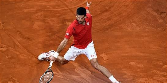 Djokovic y Nadal, por el mismo lado del cuadro en Roland Garros