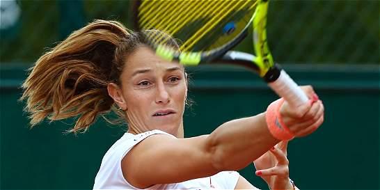 Este jueves, Mariana Duque enfrentará a  Madison Keys en Roland Garros