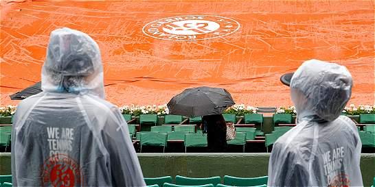 Anulan por lluvia la jornada de Roland Garros