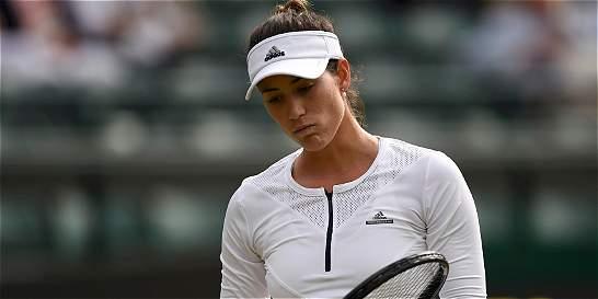 Garbiñe Muguruza, eliminada en la segunda ronda de Wimbledon