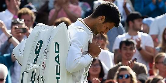 Y un día perdió Djokovic en 'grand slam': fue eliminado de Wimbledon