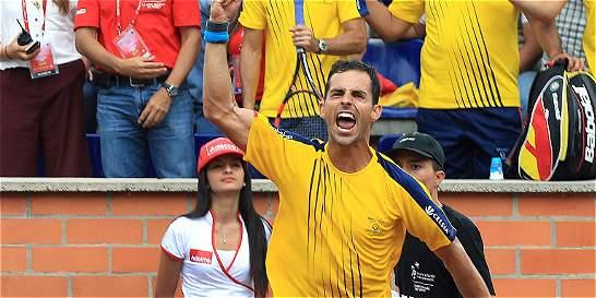 Colombia y Chile empatan 1-1 en la Copa Davis