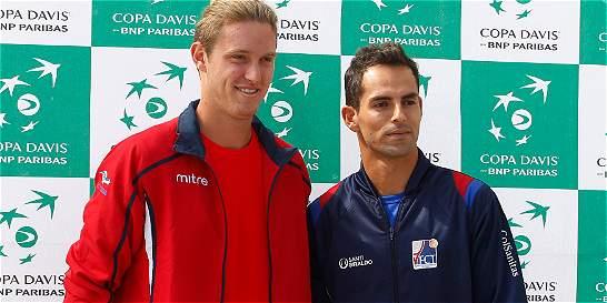 Colombia vencería a Chile por reglamento en la Copa Davis