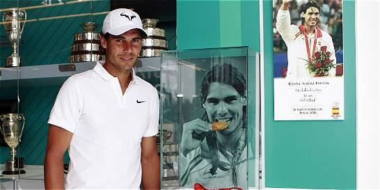 'Espero llegar bien preparado a Río': Rafael Nadal
