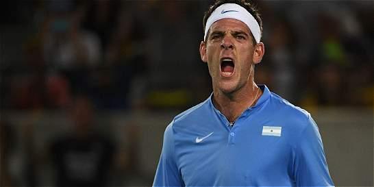 Primera gran sorpresa en Río: Del Potro eliminó a Djokovic