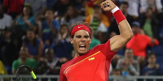 Nadal clasificó a octavos en Río y salvó el honor español en el tenis