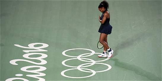 Serena Williams, eliminada en tercera ronda en los Olímpicos