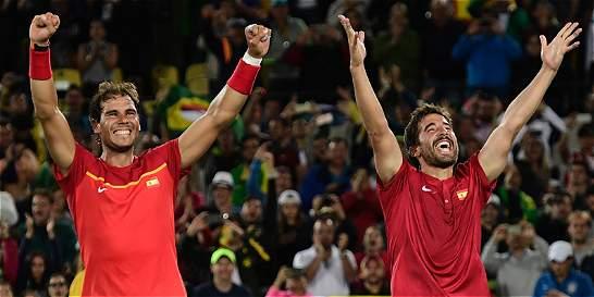 Rafael Nadal y Marc López, campeones de dobles olímpicos