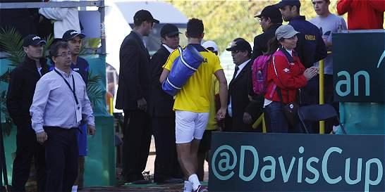Giraldo no fue castigado por abandonar: la ITF no lo sancionará