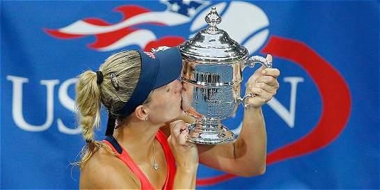 Angelique Kerber derrotó a Pliskova y es la nueva campeona del US Open