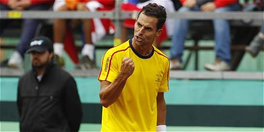 Colombia ganó en dobles: la serie está 2-1 con Dominicana en la Davis