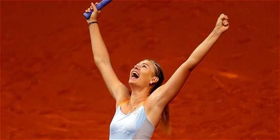 TAS rebajó suspensión de Sharapova: podrá competir en abril 2017