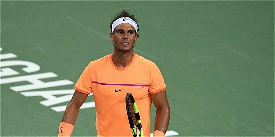 Rafael Nadal se desploma en juego y cede en la clasificación ATP