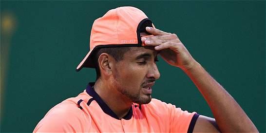 Nick Kyrgios, multado por la ATP por dejarse ganar en Shanghái