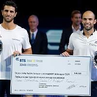 Juan Sebastián Cabal y Robert Farah, campeones del ATP 250 de Moscú