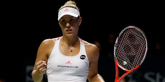 Kerber y Cibulkova, a las semifinales del Masters de Singapur