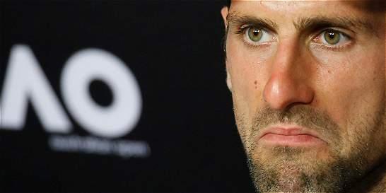 ¿Qué le pasa a Novak Djokovic?
