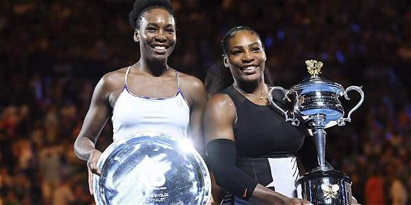 Serena Williams derrota a Venus y se corona campeona del Australia Open