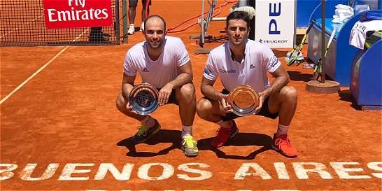 Farah y Cabal, campeones del ATP 250 de Buenos Aires