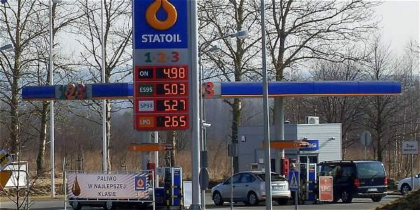 Una de las estaciones de la petrolera noruega Statoil, que compró participación para explorar en Colombia