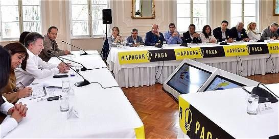 'Ya no existe el fantasma del racionamiento': Santos
