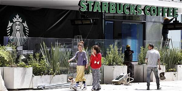 El primer local de Starbucks del país se abre en Bogotá esta semana, en el parque de la 93.