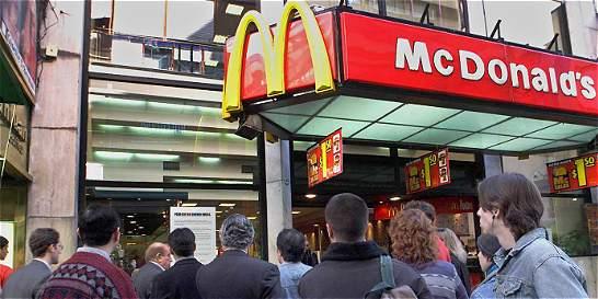 Ganancias de McDonald's caen 30 por ciento
