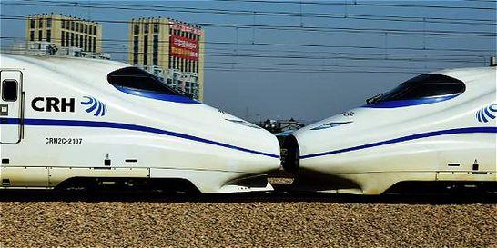 Fusión de fabricantes de trenes en China crea gigante del transporte