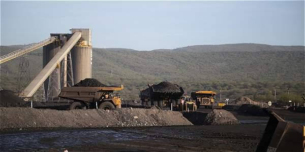 Cargue de carbón de Cerrejón