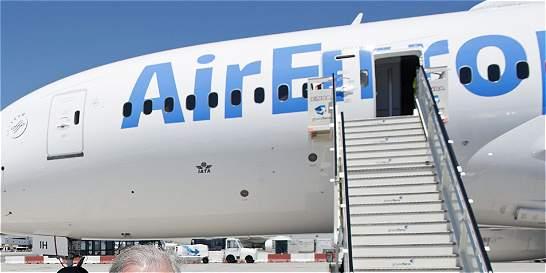 El primer vuelo de Air Europa aterrizó en el país